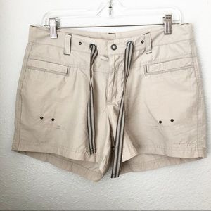 Columbia Khaki Draw String Shorts EUC Size 4